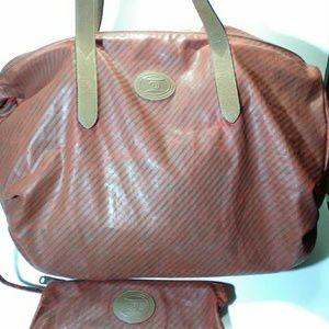 Authentic Gucci Vintage Duffle Weekender Bag